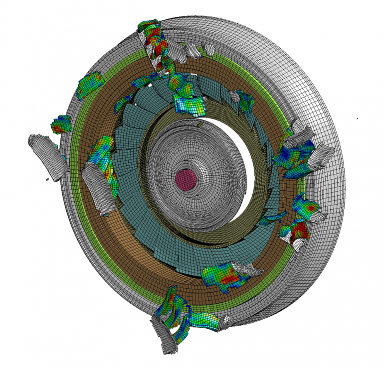 Turbomachinery Fatigue and Damage Abaqus ansys Fe-safe Ncode