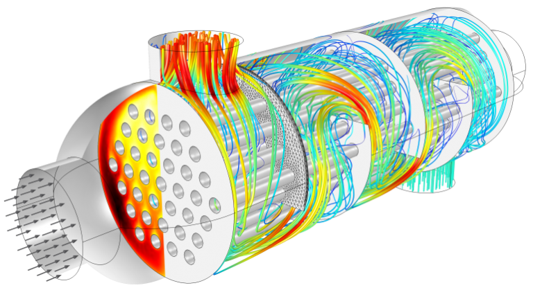 FEA and CFD based Electric Motor design and simulation