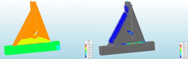 Fracture and Crack Simulation of Dam in Earthquake and seismic loading