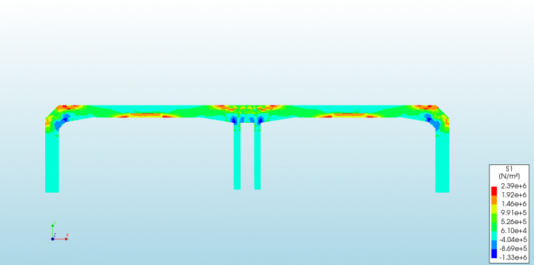Tunnel Explosion Blast- Civil engineering FEA Finite element Simulation Enteknograte, Abaqus Ansys Ls-dyna Enteknograte4