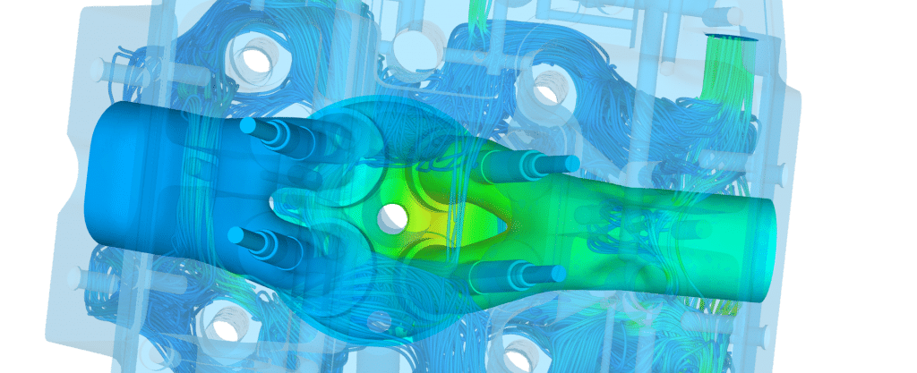 Motor and vehicle Thermal Design cooling performance CFD FEA Simulation Two way FSI internal Combustion engine Fluent Ansys Star-ccm Openfoam abaqus Nastran 2