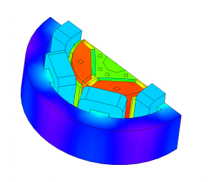IPM Coupled iron loss heat Thermal thermomechanical fea simulation electric motor ev electric vehicle fea simulation electric motor ev electric vehicle Coupled CFD and FEA Multiphysics Ansys Maxwell, Simulia Opera, JMAG, Cedrat FLUX, Siemens MAGNET and SPEED